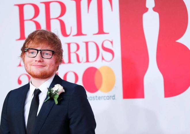 Ed Sheeran (red carpet)