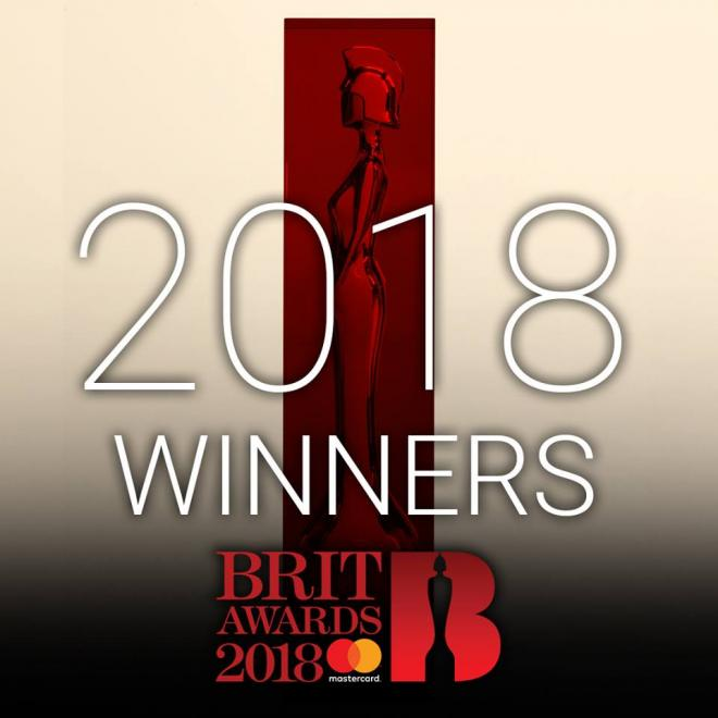 BRITs 2018 Winners