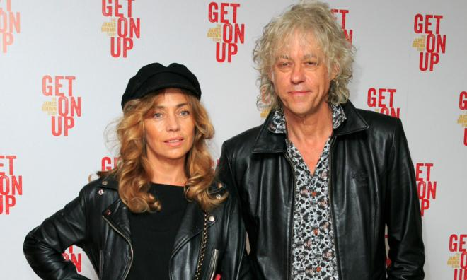 Jeanne Marine & Sir Bob Geldof