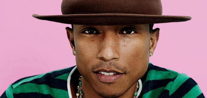 Ο Pharrell Williams ψηφίζει Χίλαρι για το Λευκό Οίκο.